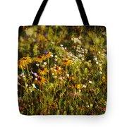 New York Wildflowers Xxvi Tote Bag