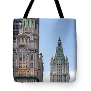 New York Woolworth Building  Tote Bag
