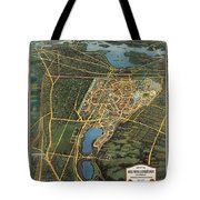 New York Worlds Fair 1939 Tote Bag