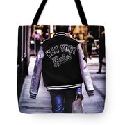 New York Yankees Baseball Jacket Tote Bag