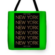 New York No 3  Tote Bag