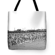New Yorkers At Coney Island. Tote Bag