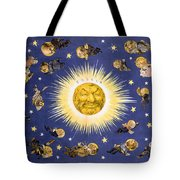 New York's New Solar System Vintage Poster 1898 Tote Bag