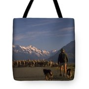 New Zealand Mt Cook Tote Bag