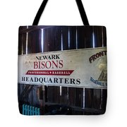 Newark Bisons Tote Bag