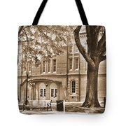 Newberry Opera House Newberry Sc Sepia Tote Bag