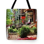 Newberry Street Spring Tote Bag