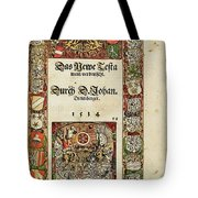 Newen Wills Tote Bag