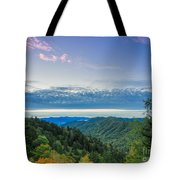 Newfound Gap. Tote Bag