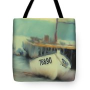Newfoundland Fishing Port Impressions Tote Bag