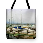 Newport Bay And Balboa Island Tote Bag