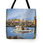 Newport Oregon - Coastal Fishing Tote Bag