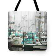 Newport, Oregon Fishing Fleet Tote Bag