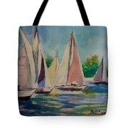 Newport Regatta  Tote Bag