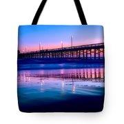Newport Sunset Tote Bag
