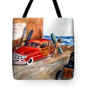 Newport Woody Tote Bag