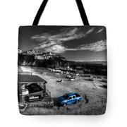 Newquay Harbour  Pickup  Tote Bag