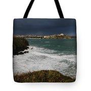 Newquay Squalls On Horizon Tote Bag