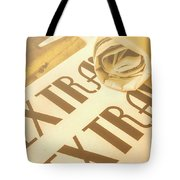 News In Detail Tote Bag