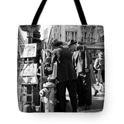 News Of The Attack On Pearl Harbor - San Francisco Dec 8 1941 Tote Bag