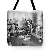 Newsboys Swimming 1900s Tote Bag