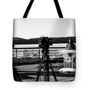 Newscasters Tote Bag