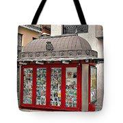 Newspaper Stand Tote Bag