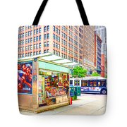 Newsstand 1 Tote Bag