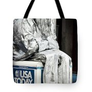 Newsworthy Mime Tote Bag
