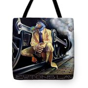 Newton's Law Tote Bag