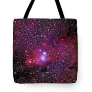 Ngc 2264 The Christmas Tree Cluster In Monoceros Tote Bag