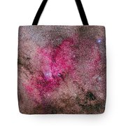 Ngc 6193 Nebulosity In Ara With Several Tote Bag