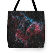 Ngc 6995, The Bat Nebula Tote Bag