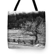 Niagara Falls Ice 4514 Tote Bag