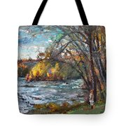 Niagara Falls Lake Tote Bag
