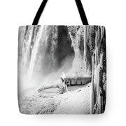 Niagra Winter Scene 1 Tote Bag
