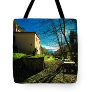 Niasca Hermitage I Portofino Park Passeggiate A Levante Tote Bag