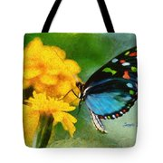 Nice Butterfly Tote Bag