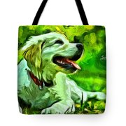 Nice Dog Tote Bag