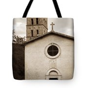 Nice Old Church For Wedding Tote Bag