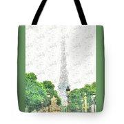 Nice Paris Tote Bag