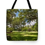 Nice Spot For Lunch Tote Bag