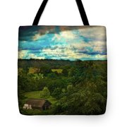 Nice Weather For Trolls In The Shire Today Tote Bag