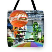 Nickelodeon Universe Indoor Amusement Park Tote Bag