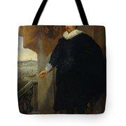 Nicolaes Van Der Borght, Merchant Of Antwerp Tote Bag