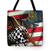 Nieuport 28c Bucking Mule Tote Bag