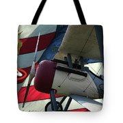 Nieuport 28c Hat In The Ring Tote Bag