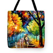 Night Alley Tote Bag