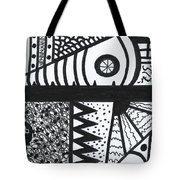 Night And Day 3 Tote Bag