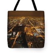 Night And Light Tote Bag